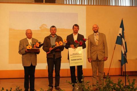 Parimate tunnustamine, põllu- või metsakuivenduse kategooria
